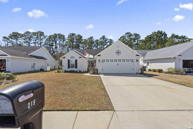 219 Palladium Dr., Surfside Beach, SC 29575 (MLS #2105526) :: Armand R Roux | Real Estate Buy The Coast LLC