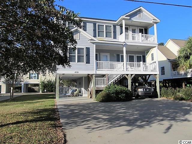 439 Calhoun Drive, Garden City Beach, SC 29576 (MLS #1807288) :: Trading Spaces Realty