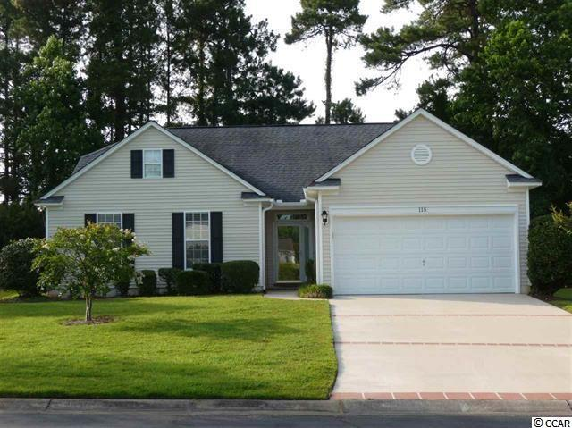 115 Cobblestone Ct. Tradition Golf , Pawleys Island, SC 29585 (MLS #1810315) :: Matt Harper Team