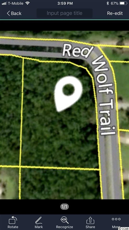 Lot 4 Redwolf Trail, Myrtle Beach, SC 29579 (MLS #1812844) :: The Hoffman Group