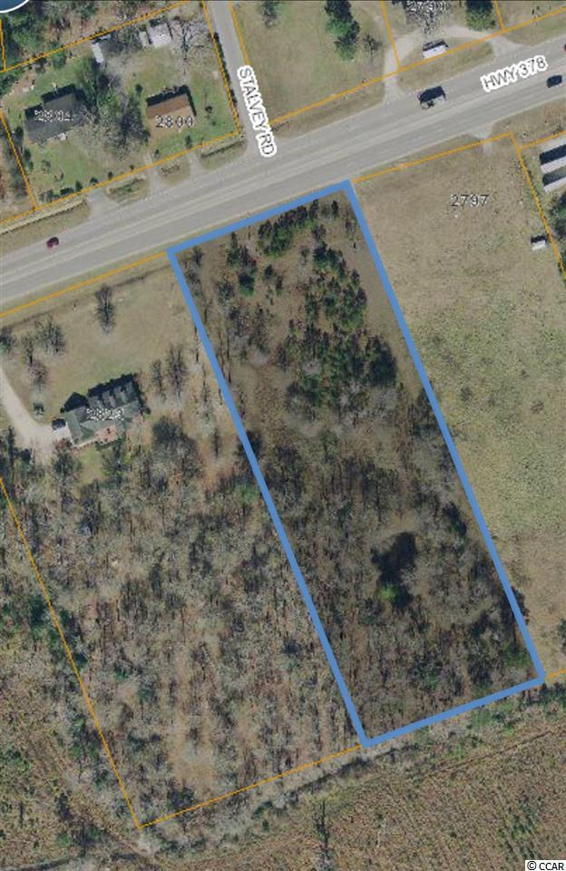 3 Ac Highway 378, Conway, SC 29527 (MLS #1814979) :: Sloan Realty Group
