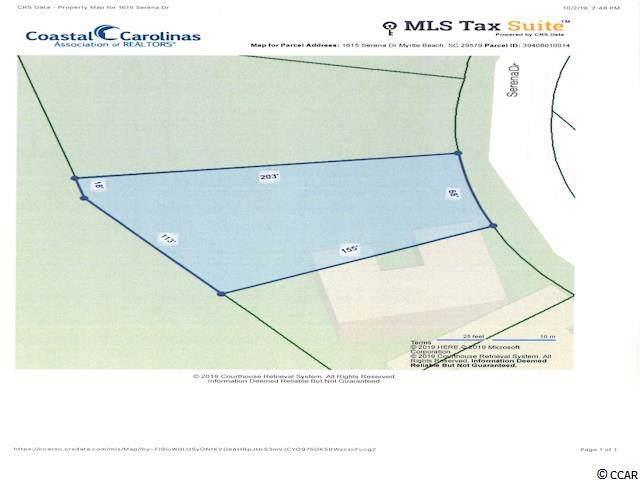 1615 Serena Dr., Myrtle Beach, SC 29579 (MLS #1921230) :: Duncan Group Properties