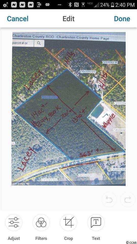 tbd Randall Rd., McClellanville, SC 29458 (MLS #2010065) :: The Litchfield Company