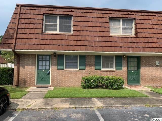 1025 Carolina Rd. D-1, Conway, SC 29526 (MLS #2119953) :: James W. Smith Real Estate Co.