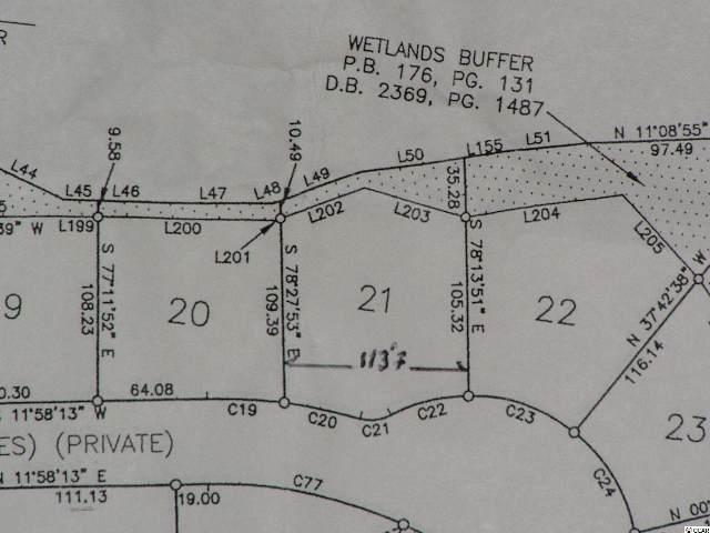 Lot 21 Highwood Circle, Murrells Inlet, SC 29576 (MLS #1700389) :: The Hoffman Group