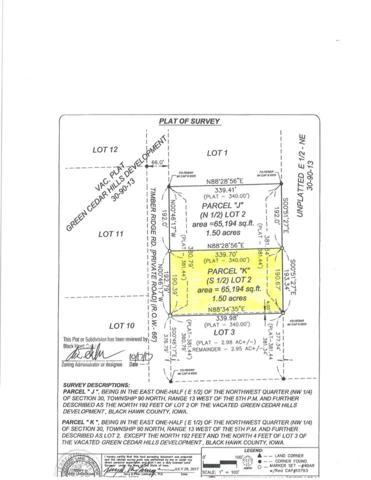 Lot 2 Parcel K Timber Ridge Road, Cedar Falls, IA 50613 (MLS #20181941) :: Amy Wienands Real Estate