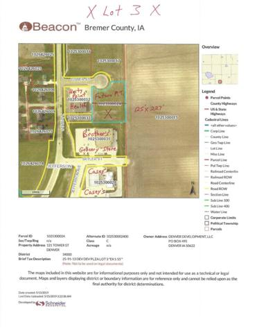 Lot 3 State Street, Denver, IA 50622 (MLS #20192472) :: Amy Wienands Real Estate