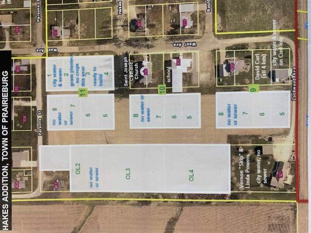 LOT 1 & 2 West Avenue, Prairieburg, IA 52219 (MLS #20195041) :: Amy Wienands Real Estate