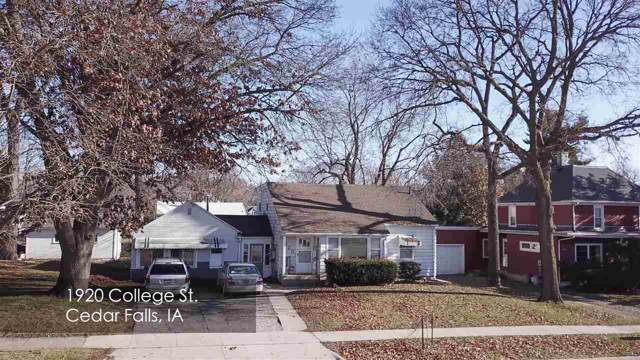 1916-1920 College Street, Cedar Falls, IA 50613 (MLS #20196464) :: Amy Wienands Real Estate