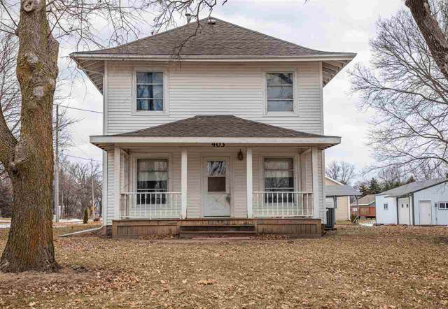 403 E Grove St, Shell Rock, IA 50670 (MLS #20200190) :: Amy Wienands Real Estate