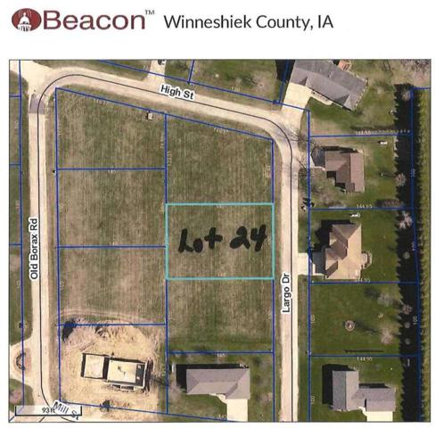 Lot 24 Largo Drive, Spillville, IA 52168 (MLS #20150293) :: Amy Wienands Real Estate