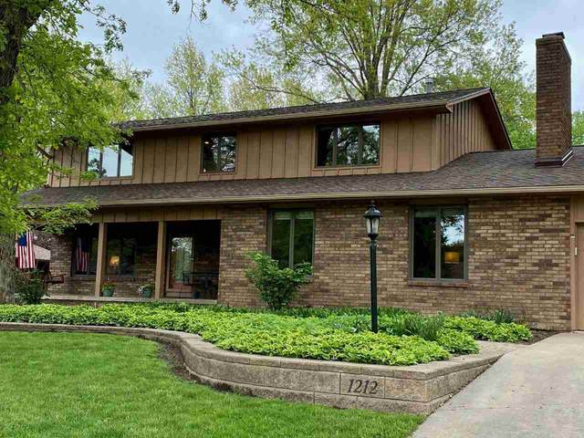 1212 Oak Park Boulevard, Cedar Falls, IA 50613 (MLS #20201219) :: Amy Wienands Real Estate