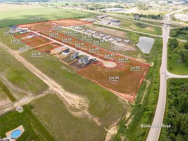 Lot 4 Post Oak Drive, Hudson, IA 50643 (MLS #20212704) :: Amy Wienands Real Estate