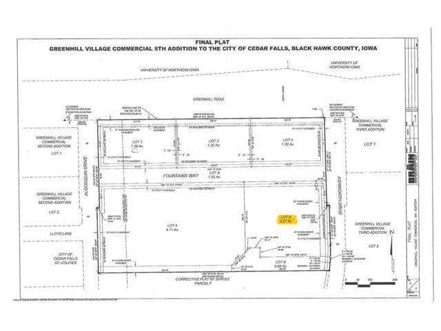Lot 5 Greenhill Village Commercial, Cedar Falls, IA 50613 (MLS #1707616) :: WHY USA Eastern Iowa Realty