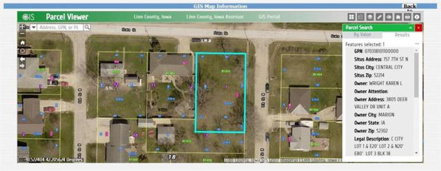 157 7th Street N, Central City, IA 52214 (MLS #1803293) :: WHY USA Eastern Iowa Realty