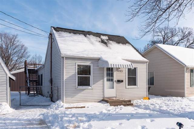 1203 M Street SW, Cedar Rapids, IA 52404 (MLS #2000611) :: The Graf Home Selling Team