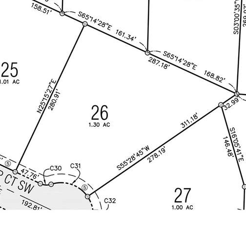 Lot 26 Troyers Meadow, Kalona, IA 52247 (MLS #2101453) :: The Graf Home Selling Team