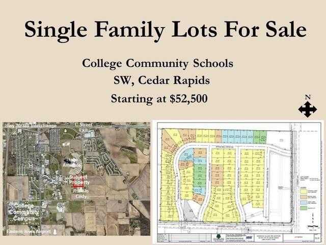 Lot 55 Colpepper Drive SW, Cedar Rapids, IA 52404 (MLS #2102045) :: The Graf Home Selling Team