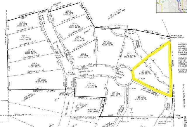 3058 Forrest Hill Court, Hiawatha, IA 52233 (MLS #2103075) :: The Graf Home Selling Team