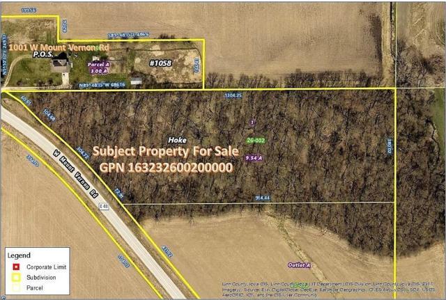Mt Vernon Road, Mt Vernon, IA 52314 (MLS #1801849) :: WHY USA Eastern Iowa Realty