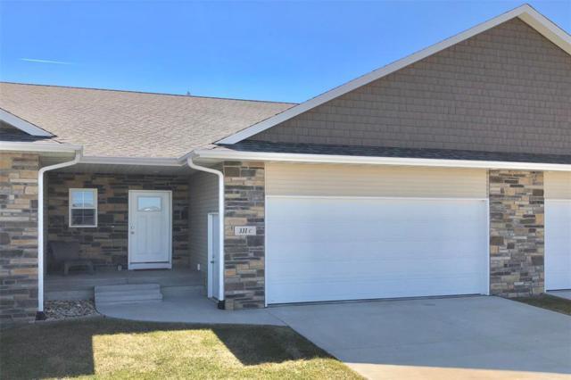 331 Amy Street C, Swisher, IA 52338 (MLS #1901579) :: The Graf Home Selling Team