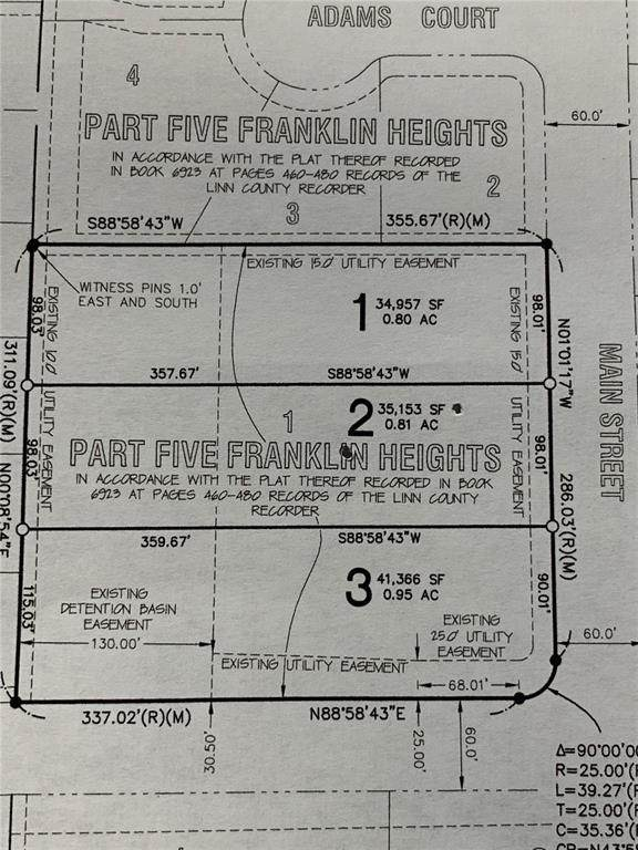 817 Main Street S Lot 1, Center Point, IA 52213 (MLS #2007651) :: The Graf Home Selling Team