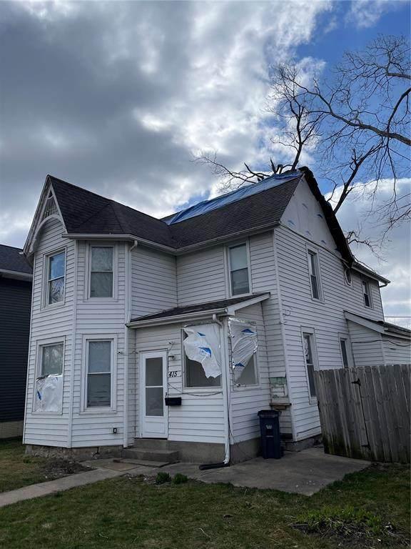 415 6th Avenue SW, Cedar Rapids, IA 52404 (MLS #2101923) :: The Graf Home Selling Team