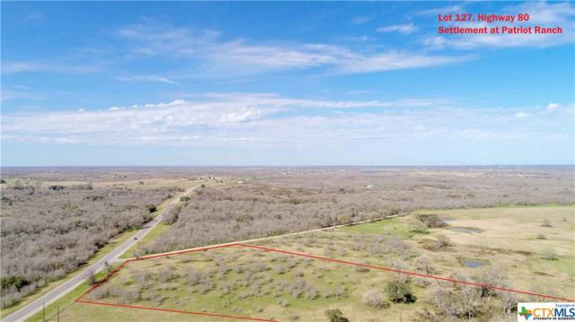 0 (Lot 127) Settlement, Gonzales, TX 78629 (MLS #339577) :: Magnolia Realty