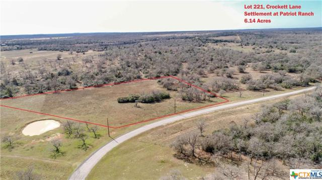 0 (Lot 221) Crockett, Luling, TX 78648 (MLS #340115) :: Magnolia Realty