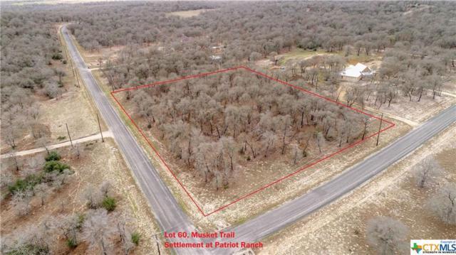 0 (Lot 60) Powder Ridge/Musket, Luling, TX 78648 (MLS #342735) :: Magnolia Realty