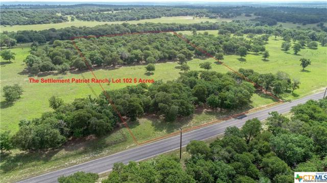 0 (Lot 102) Powder, Luling, TX 78648 (MLS #347763) :: The Suzanne Kuntz Real Estate Team