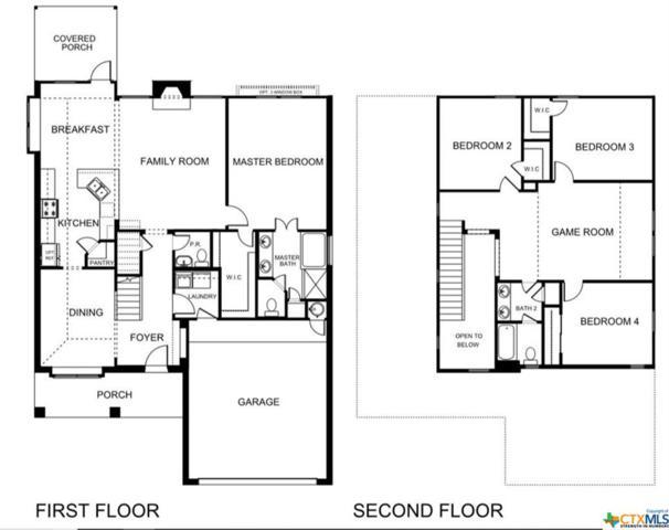 7605 Melanite Drive, Killeen, TX 76542 (MLS #357871) :: The Suzanne Kuntz Real Estate Team