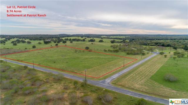 0 (Lot 11) Patriot Circle, Luling, TX 78648 (MLS #362236) :: Magnolia Realty