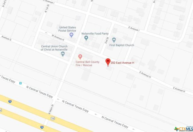 202 E Avenue H, OTHER, TX 76559 (MLS #363270) :: Vista Real Estate