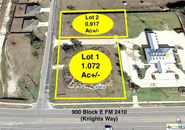 903 E Fm 2410 Highway Lot 2, Harker Heights, TX 76548 (MLS #371452) :: Kopecky Group at RE/MAX Land & Homes