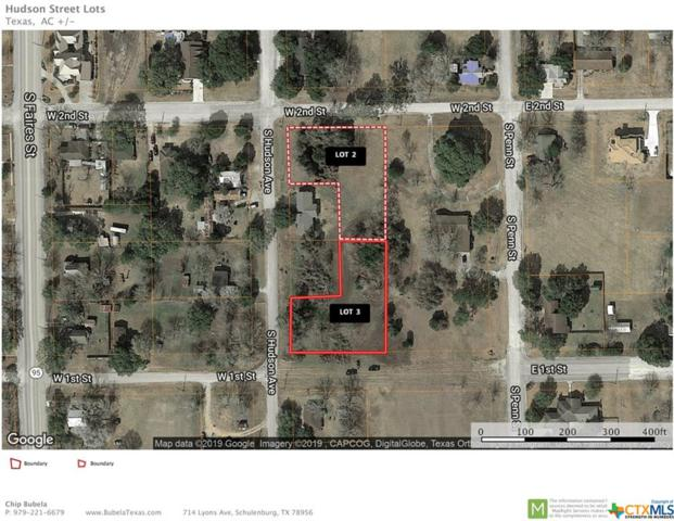 003 S Hudson, Flatonia, TX 78941 (MLS #371602) :: The i35 Group