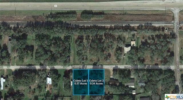 Lot 1 & 2 Coleto Rd, Victoria, TX 77905 (MLS #382225) :: Erin Caraway Group
