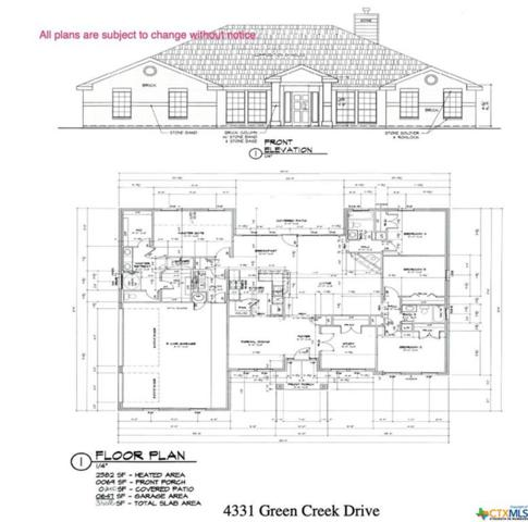4331 Green Creek Drive, Salado, TX 76571 (MLS #384741) :: The Graham Team