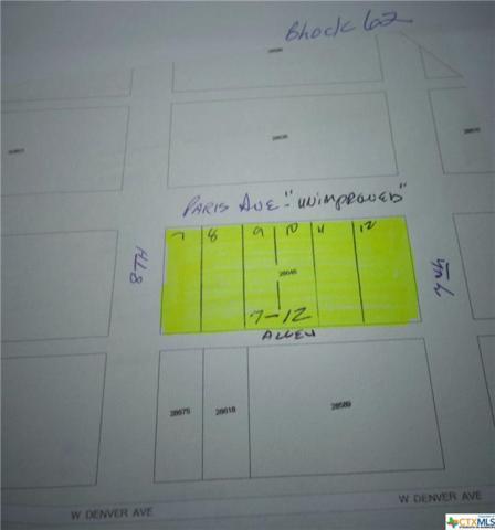 701-711 W Paris Avenue, Seadrift, TX 77983 (MLS #385497) :: RE/MAX Land & Homes