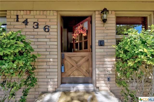 1436 Highland Drive, San Marcos, TX 78666 (MLS #390100) :: Kopecky Group at RE/MAX Land & Homes