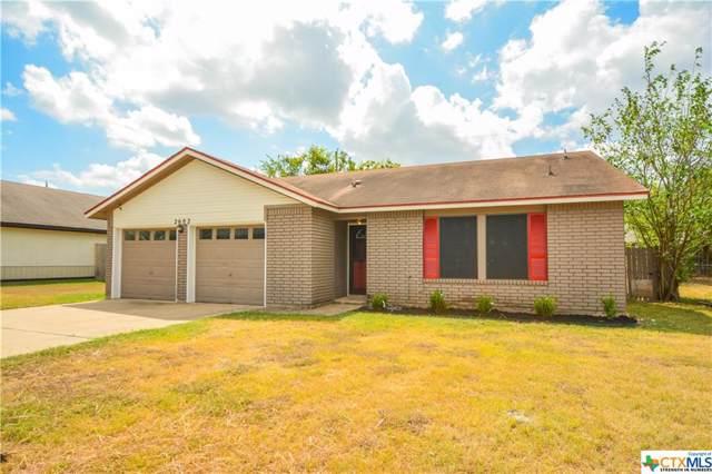 2602 Woodlands Drive, Killeen, TX 76549 (MLS #390749) :: Berkshire Hathaway HomeServices Don Johnson, REALTORS®