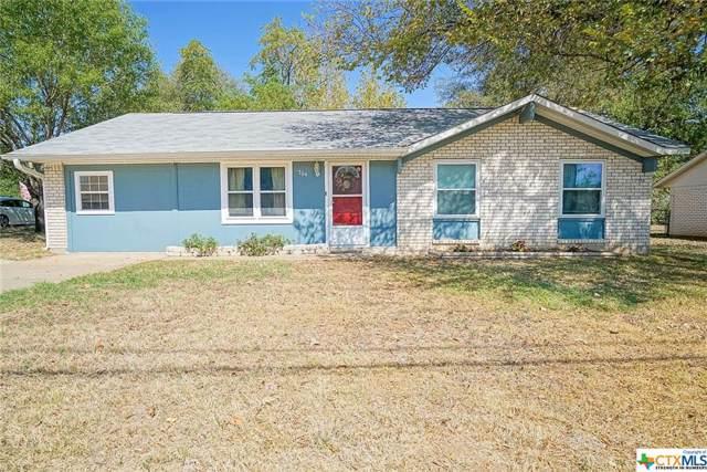 704 E Avenue O, Belton, TX 76513 (MLS #391642) :: The Myles Group