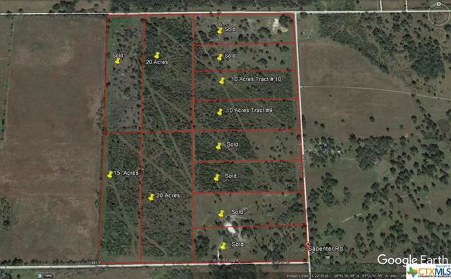 00 Sapenter Rd Tract 10, Goliad, TX 77963 (MLS #392933) :: RE/MAX Land & Homes