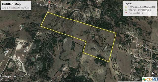 123 Acres Twin Mountain Road, Copperas Cove, TX 76522 (#393539) :: First Texas Brokerage Company