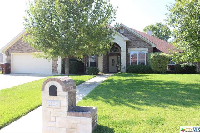 2108 Yak Trail, Harker Heights, TX 76548 (MLS #394231) :: The Graham Team