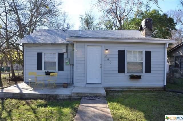 800 W 1st Avenue, Belton, TX 76513 (MLS #396844) :: The i35 Group