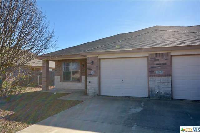 1300 Cinch Drive, Killeen, TX 76549 (MLS #396929) :: The i35 Group