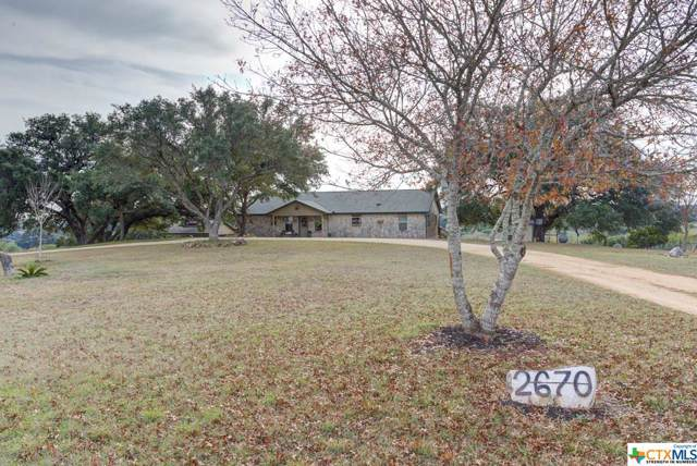2670 Oak Valley Drive, New Braunfels, TX 78132 (MLS #397036) :: The Real Estate Home Team
