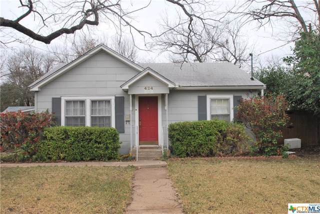 424 E 13th Avenue, Belton, TX 76513 (MLS #399668) :: Erin Caraway Group