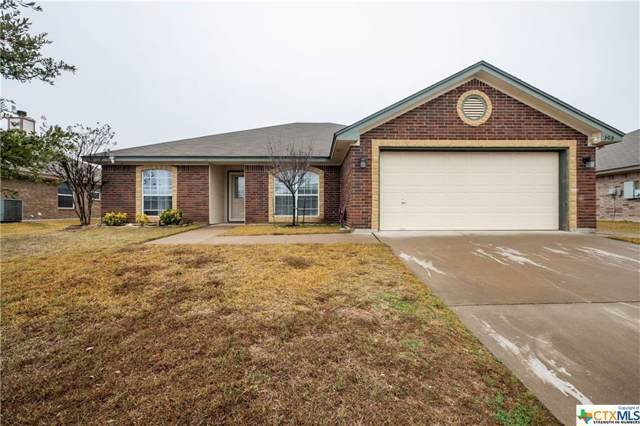 303 Rowdy Drive, Killeen, TX 76542 (MLS #400154) :: Vista Real Estate